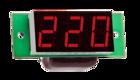 Вольтметр цифровой Вм-19 (220В АС) однофазный без корпуса