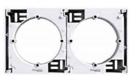 Коробка для накладного монтажа наборная белая EPH6100221