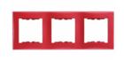 Рамка 2 поста алюминий вертикальная SDN5801160