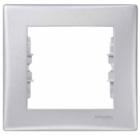 Рамка 1 пост алюминий SDN5800160