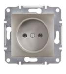 Механизм розетки (2К) 16A бронза EPH3000169