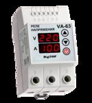 Реле напряжения с контролем тока VA-protector 63A